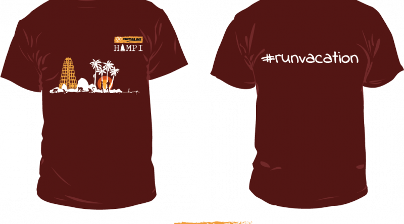 Go Heritage Run Hampi T-shirt