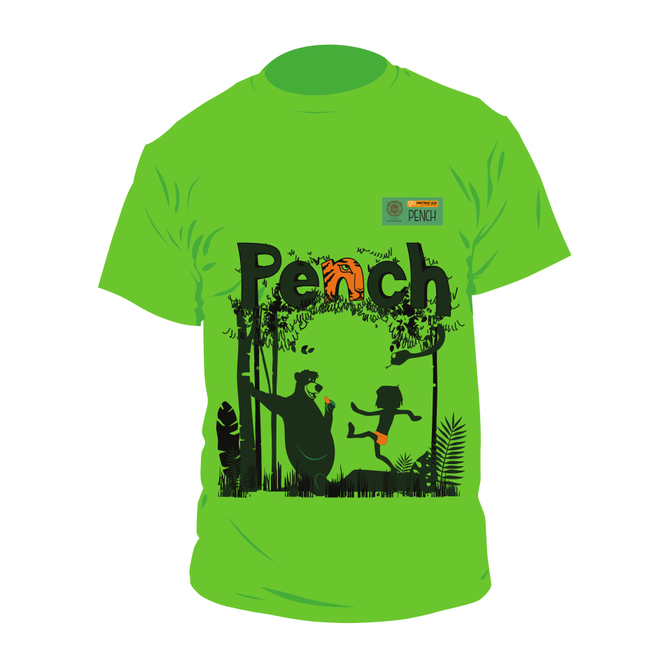 ghr pench 2018 run t-shirt