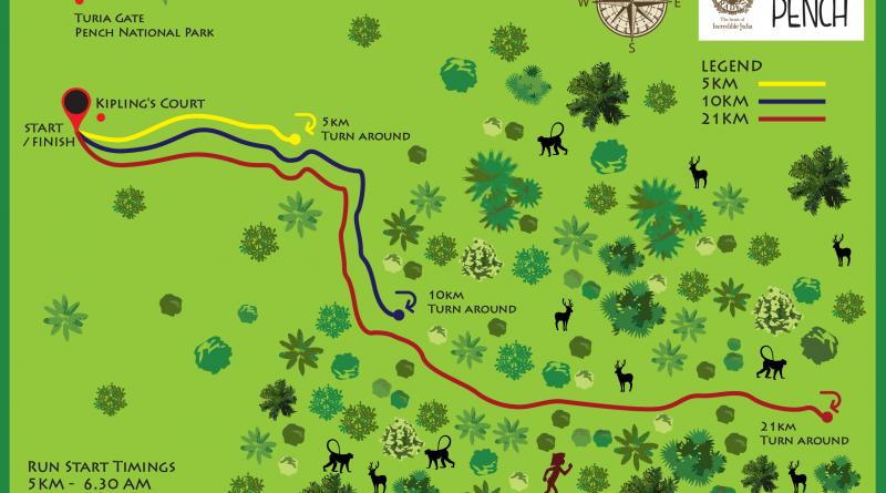 GHR Pench Run Route