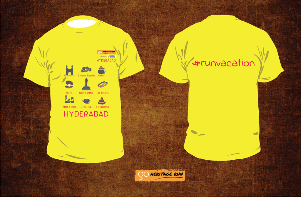 GHR Hyderabad 2018 Run T-shirt