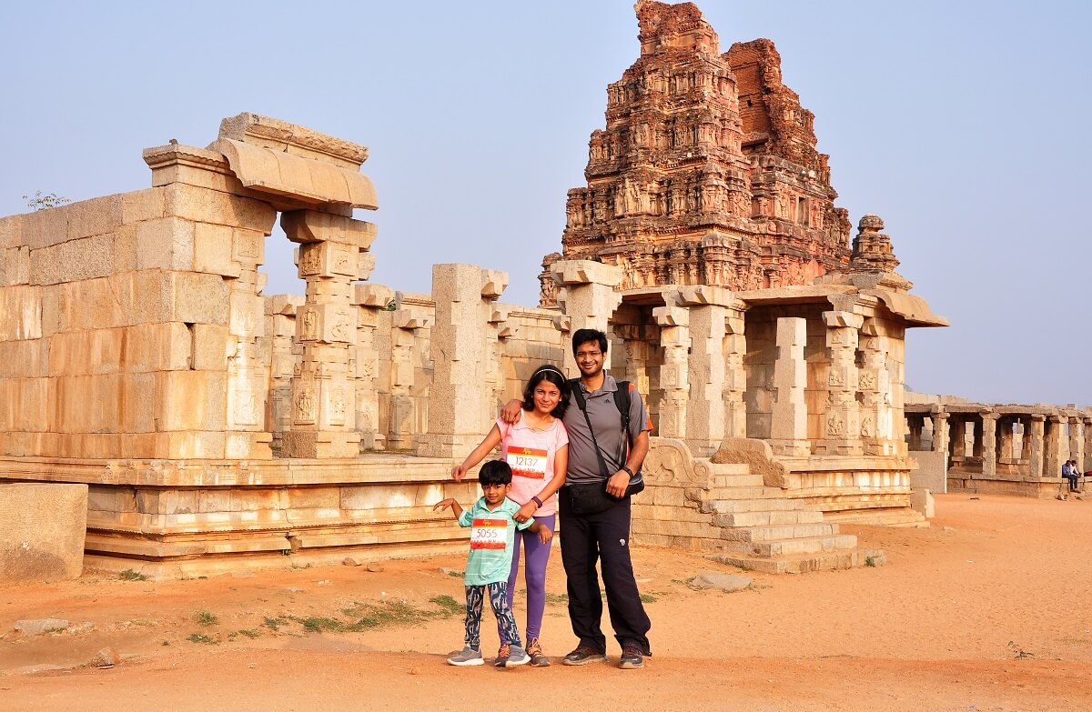 hampi run vacation