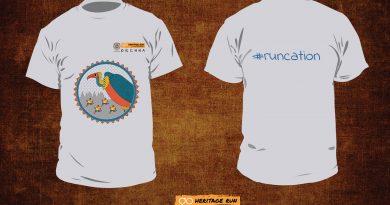Orchha 2018 run t-shirt