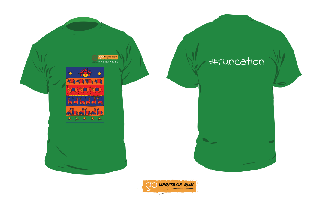 pachmarhi 2019 run t-shirt