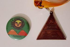 pachmarhi medal badge