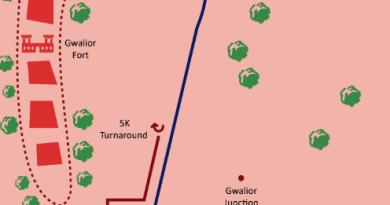 gwalior run routes