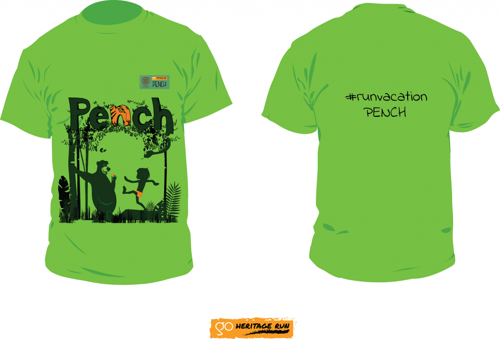 Pench 2018 Run T_shirt