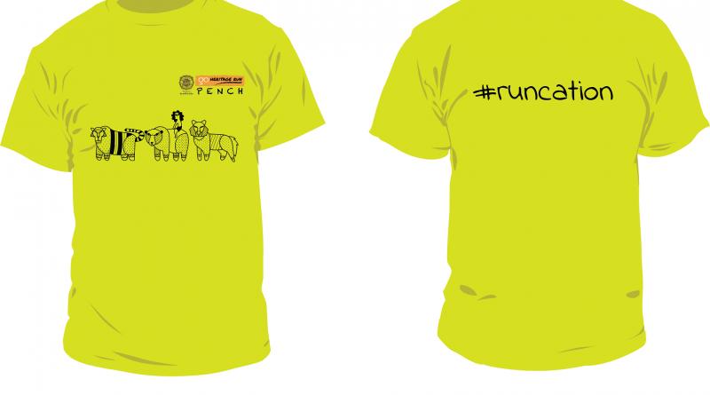 Pench 2019 Run T-shirt