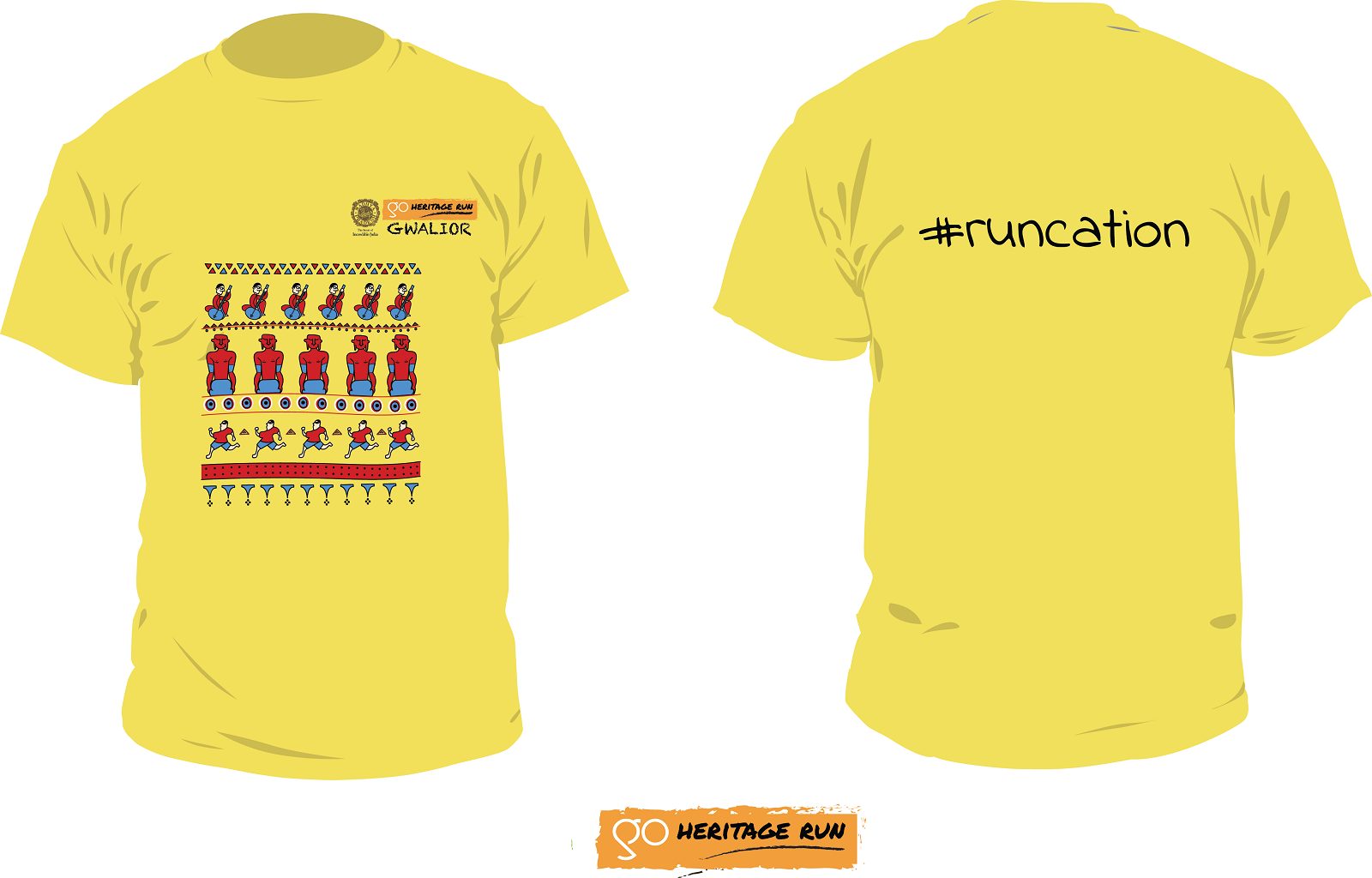Gwalior 2019 Run T-shirt