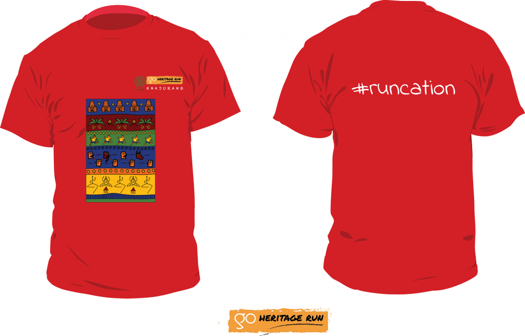 Khajuraho 2019 Run T-shirt