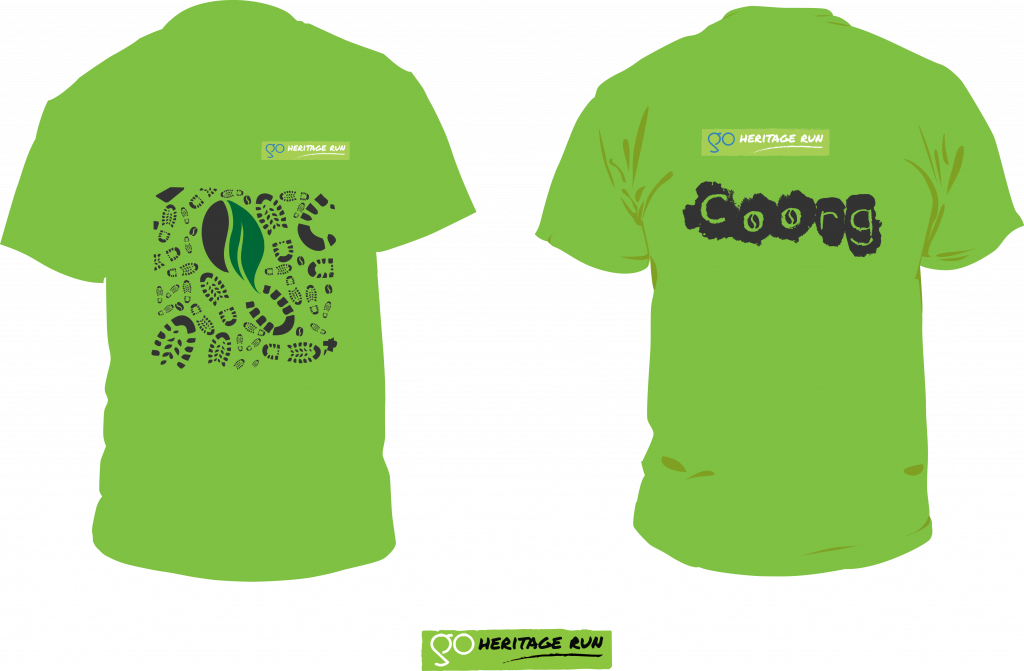 GHR Coorg 2016 run t-shirt
