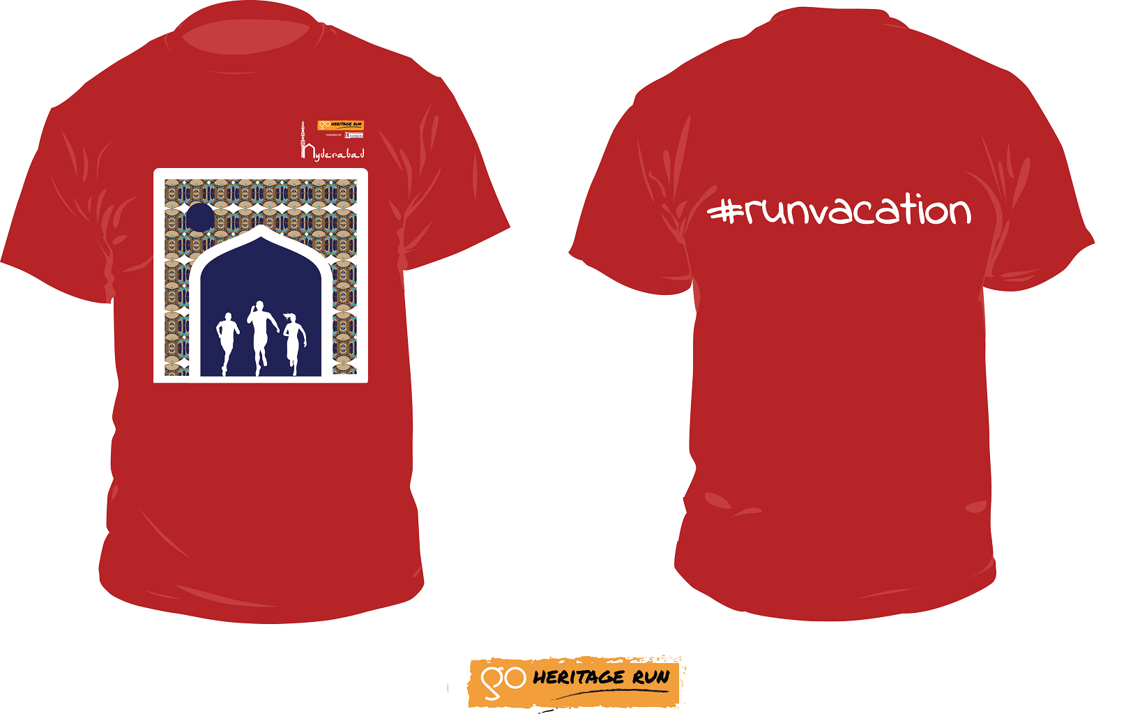 GHR Hyderabad 2017 Run T-shirt