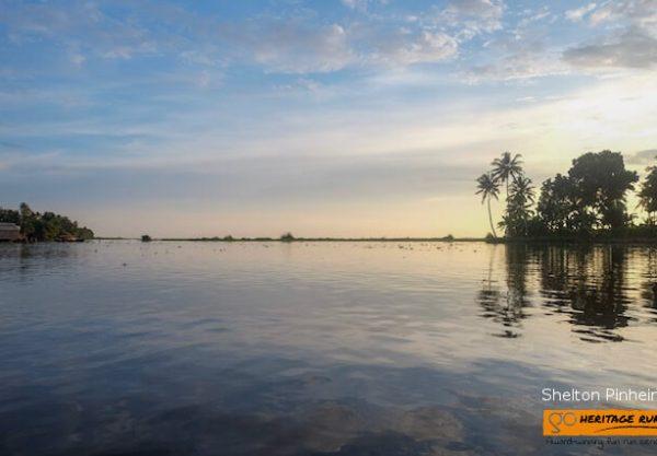 kumarakom lake wembanad day