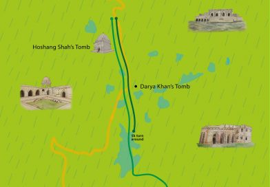 GHR Mandu Run Route