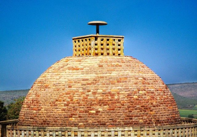 Sanchi Stupa- The DomeFI
