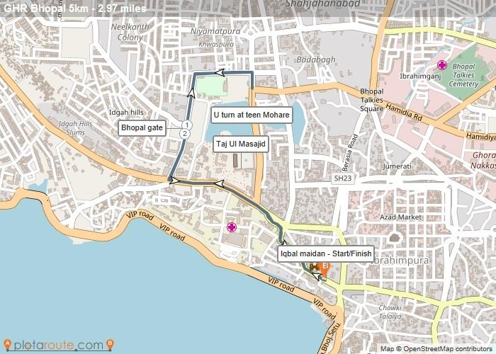 Go Heritage Run- Bhopal- 5km