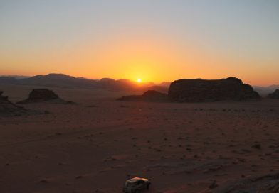 Runcation jordan SunsetWadiRum