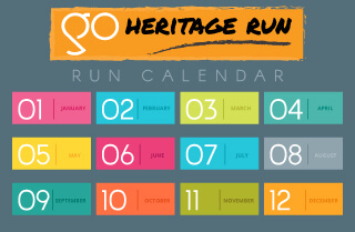 go heritage run calendar