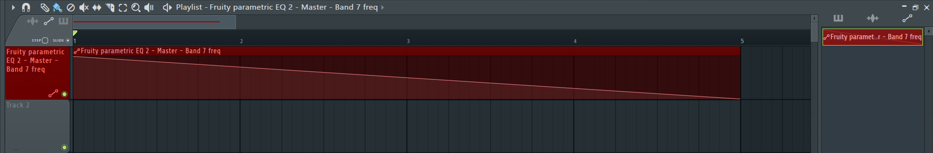 How to Make an Automation Clip in FL Studio_4 - Tweaked Automation Clip