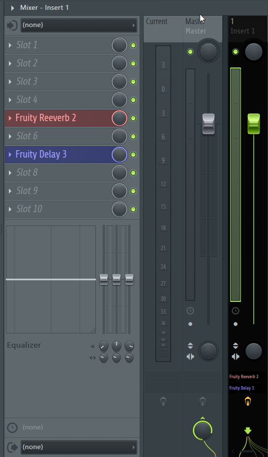 How to Move Insert Effects on FL Studio's Mixer_1 - Init