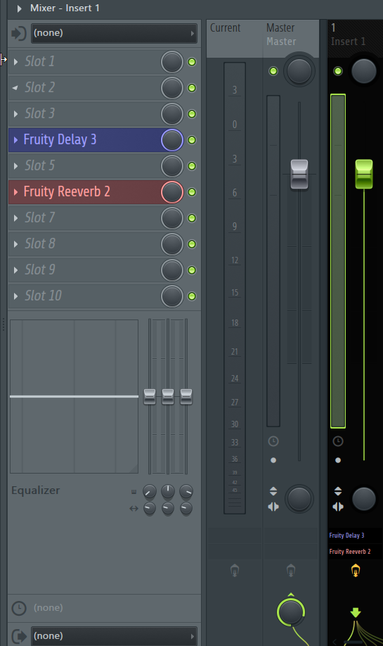How to Move Insert Effects on FL Studio's Mixer_4 - FX Ins Moved