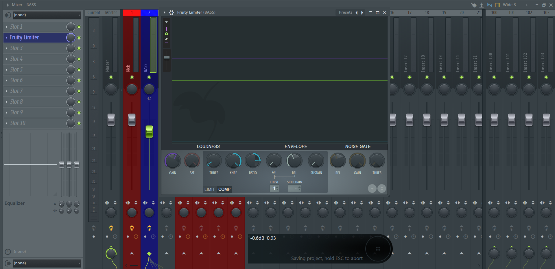 How to Sidechain in FL Studio using Fruity Limiter_02