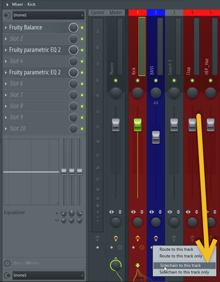 How to Sidechain in FL Studio using Fruity Limiter_03