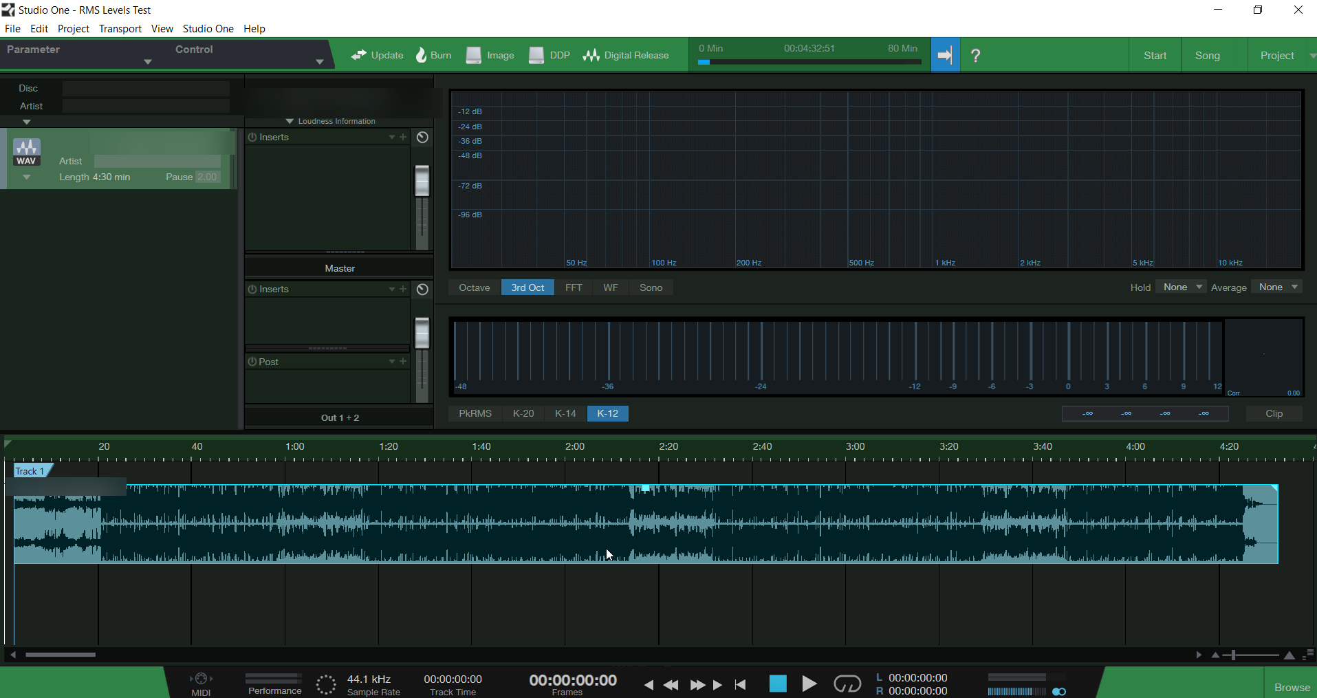 Presonus Studio One Default Project