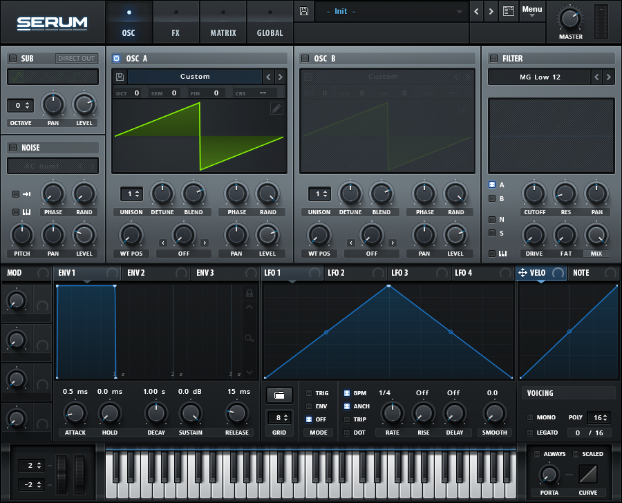 How to Make a Sub Bass in Serum_01 - INIT