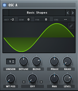How to Make a Sub Bass in Serum_02 - Osc 1