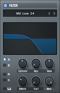 How to Make a Sub Bass in Serum_03 - Filter