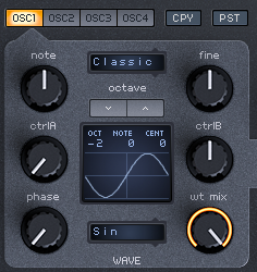 How to Make a Sub Bass in Spire_03 - Osc 1