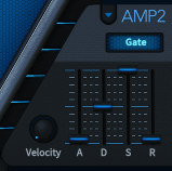 How to Make a Sub Bass in u-he Hive_06 - Amp Env 2