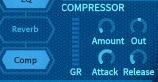 How to Make a Sub Bass in u-he Hive_09 - Compressor