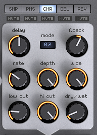 How to Make an Analog Funky Synth Bass in Spire_12 - FX Chorus