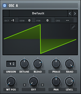 02 - OSC A_how to make a funky synth bass in Serum