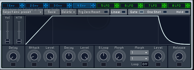 How to Make a Sub Bass in Massive_03 - Amp Envelope