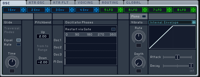 How to Make a Sub Bass in Massive_06 - Osc Tab