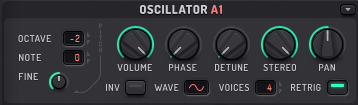How to Make a Sub Bass in Sylenth1_02 - Osc A1