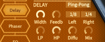 How to Make an Electric Piano in Hive_11 - Delay FX