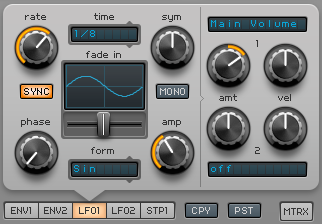 How to Make an Electric Piano in Spire_07 - LFO 1