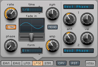 How to Make an Electric Piano in Spire_08 - LFO 2