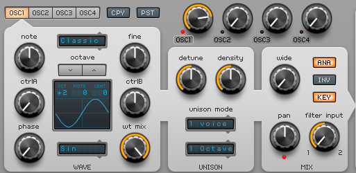 How to Make a Funky Worm Synth in Spire_02 - Osc1