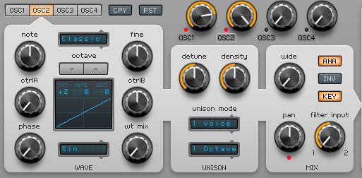 How to Make a Funky Worm Synth in Spire_03 - Osc2