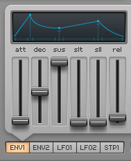 How to Make a Funky Worm Synth in Spire_07 - Amp Envelope