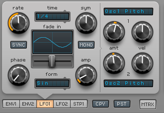How to Make a Funky Worm Synth in Spire_08 - LFO1