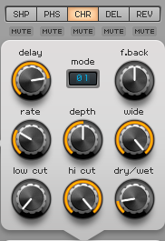How to Make a Funky Worm Synth in Spire_10 - Chorus FX