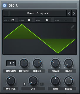 How to Make a Hip Hop Whine Synth in Serum_02 - OscA