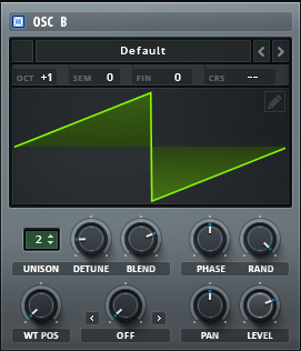 How to Make a Hip Hop Whine Synth in Serum_03 - OscB