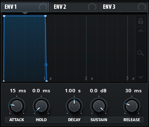 How to Make a Hip Hop Whine Synth in Serum_05 - Amp Env