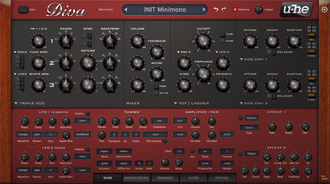 How to Make a Hip Hop Whine Synth in u-he Diva_01 - INIT